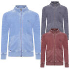 Tokyo Laundry Mens Jasperville Funnel Zip Through Soft Burnout Acid Wash Jacket