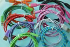 ROUND BRAIDED 6FT fabric power charge cable FOR iphone 5 5s c 6 7 plus data sync