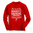 """REDUCED!!! """"Brightly Shining"""" CHRISTMAS Cherished Girl Red Long Sleeve T-Shirt"""