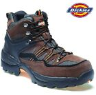 MENS DICKIES LIGHTWEIGHT SAFETY STEEL TOE CAP WORK SHOE HIKER TRAINER BOOTS SIZE