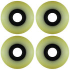 Aggressive Inline Replacement Wheels Black/Yellowed 64mm 90A  4 Pack