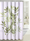 Fabric Shower Curtain Multicolor Forest Leaves with Reinforced Grommets, SC-03