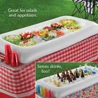 Inflatable Buffet Serving Bar Ice Cooler Keep Food Drinks Cold Picnic BBQ