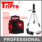1 Plane 3D 360° Self Auto Leveling Rotary Cross Laser Level Multi Line Tripod