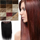 "Hot Sale Invisible Line Wire 100% Human Hair Extensions Head Band 30"" 150G AAAAA"