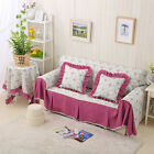 Floral Cotton Blend Sofa Cover OAUL Protector 1 2 3 4 seater Clean Washable Couc
