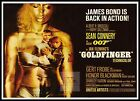 Goldfinger 4 British Movie Posters Classic Vintage & Films £21.19 GBP