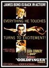 Goldfinger 5 British Movie Posters Classic Vintage & Films £23.19 GBP on eBay