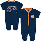 MLB Detroit Tigers outfield coverall baby infant  bodysuit romper