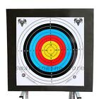 Creative 10pcs Archery Target Paper Face for Arrow Bow Shooting Hunting Practice