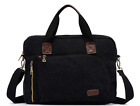"Canvas 17"" 18"" Laptop Shoulder Computer Bag Messenger Case Bag For Lenovo HP"