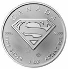 5 - 1 oz Silver Superman Coins
