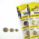 Vinnic Watch Batteries ( All Sizes ) Alkaline Coin cell Mercury free Hg 0%