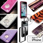 Hard Back Variety of Designs Animal Skin Metal Glitter Diamond Bumper Case Cover