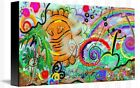 TAINO ECHOES - creative painting image on canvas, by Galina