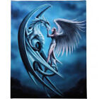 Ann Stokes Art -Wall Plaque, Mythical, Magical, Dragons, Vampires, Gothic 25x19