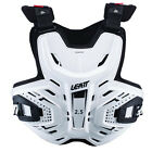 NEW LEATT Adult Body Armour 2.5 Chest Protector MX SX Motocross Racing White