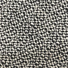 "Black and White Rough Weave Coating Weight Wool Fabric By The Yard 54""W"