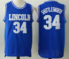 Shuttlesworth Cheap Ray Allen Lincoln 34 Jesus Shuttlesworth Basketball Jersey