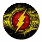 The Flash Or Flash Logo Heat-Resistant Round Mousepad Mouse Pad-3 Designs-New