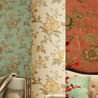 Vintage Floral Wallpaper Roll Living Room TV Wall Non-woven Antique Paper 10M