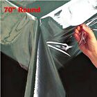 Super Clear Table Cloth Cover Protects Fabrics Heavyweight & Durable All Sizes