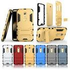 Rugged Hybrid Armor Stand Back Cover Skin Case for ZTE Axon 7/7 Mini/Elite/Lux