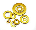 SOLID BRASS WASHERS THICK FORM A DIN125 M3 4 5 6 8 10 12 16 FOR BOLTS / SCREWS