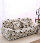 xheaf Floral Spandex Stretch Fitted Sofa Cover Pet Protector for 1 2 3 4 seaters