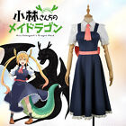 Miss Kobayashi's Dragon Cosplay Costume Maid Dragons Girl Tohru Dress Custom