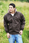 Genuine Mens BRONTE Melrose Peach Microfibre Riding Equestrian Jacket