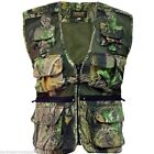 HOMMES PAYS CAMOUFLAGE GILET S-3XL 10 POCHES PÊCHE GILET STORMKLOTH