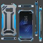 R-JUST Aluminum Alloy Metal Cover Screw fixation Case For Samsung Galaxy S7 S8+