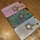 For iPhone Ultra-Thin Bling Glitter Sequins Diamond Star Crystal Soft Case Cover