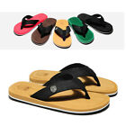 Men Summer Flip Flops Slippers Sandals Beach Slip On Flats New Shoes 5 Colors