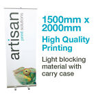 1500mm, Roller Banner, roll up banner, pull up banner - Exhibition stand