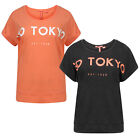 Tokyo Laundry Womens Leroux Activewear Jersey T Shirt Ladies New Fitness Gym Top