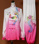 Girls Women Embroidery Kung fu Tai chi Competition Suit Martial arts Uniforms