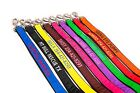 Внешний вид - Personalized Embroidered Dog Leash Extra Durable Extra Tough GO GO CUTE PUPPY
