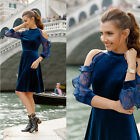 US Mermaid Lace Cap Sleeve Evening Dress Formal Prom Dresses 08338 Ever Pretty