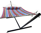 Sorbus® Hammock Bed Includes Detachable Pillow and Spreader Bar, 2 Person