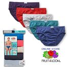 Fruit of the Loom Mens No Fly Cotton Sport Briefs 5 10 or 15 Value Packs