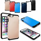 Hybrid Rugged Rubber Shockproof Protective Case Cover For Apple iPhone 6 6S Plus