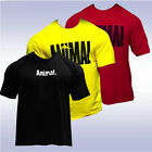 UNIVERSAL NUTRITION ICONIC ANIMAL T-SHIRT (YELLOW, RED, BLACK) tee pak authentic