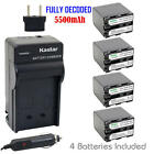 Kastar QM91D Battery&Charger for Sony DSR-PDX10 HDR-HC1,S...
