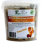 Premium Dried Brine Shrimp Cubes Fish Food