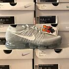 Nike Air VaporMax Flyknit Pure Platinum Wolf Grey 849558-004 Size: 8-13