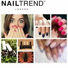 Nail Trend Gel Nail Polish UV LED Soak Off Colour Bottle Range Top & Base Coat