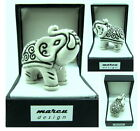 Elefant, Elefanten-Figur, Glücksbringer, MADE WITH SWAROVSKI® ELEMENTS