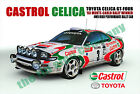 Castrol Toyota Celica' Wall Plaque. Sign,  great for Bars Man Caves etc